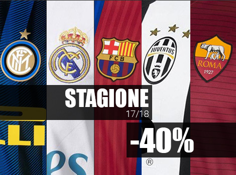 Stagione 17/18 -40%